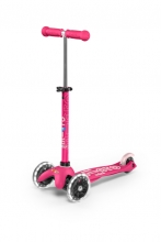 Micro mini scooter MMD075 deluxe LED pink