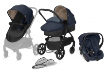 CBX Travelsystem Onida Jeans Blue 3 in 1 pram-set
