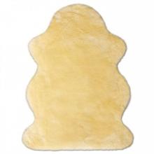Heitmann lambskin sheared gold-beige 75 - 85 cm