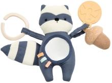 Sebra Activity toy Rebel the Raccoon bramble blue