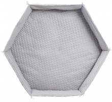 roba Play pen cushion hexagon roba Style grey