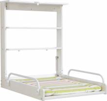 Roba Wall shelf with changing unit white jungle 79,5 x 63 x 76,5/19 cm