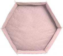 roba Play pen cushion hexagon roba Style light pink