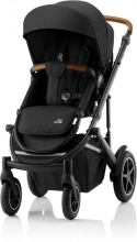 Britax Römer SMILE III Space Black brown ESSENTIAL BUNDLE (Stroller + seat + carrycot)