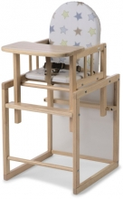 Geuther High chair Nico stars natural wood