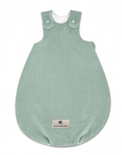 Zöllner Jersey Sleeping Bag Koon Terra green 50/56