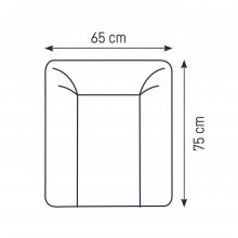 Zöllner Changing mat Softy Little Bonsai 65x75 cm
