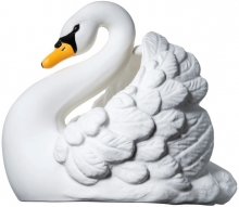 Natruba Bath toy swan white