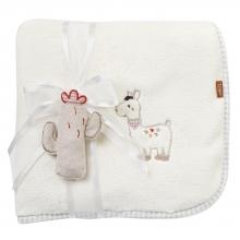Fehn 058253 Cuddle blanket Llama