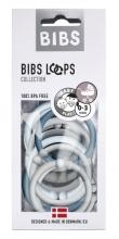 BIBS Loops cloud/baby blue/petrol