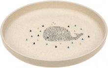 Lässig Plate PP/Cellulose Little Water Whale