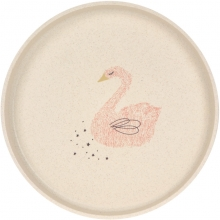 Lässig Plate PP/Cellulose Little Water Swan