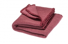 Disana Summer blanket light pink and wildberry 100x80cm
