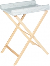Geuther Foldable changing shelf Trixi natural Design 73 Starry night green