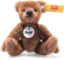 Steiff 028151 Mini Teddy 29cm Mohair brown - Collectors Item