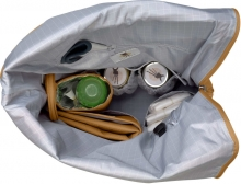 Lässig Green Label Rolltop changing bag curry