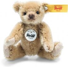 Steiff 028168 Mini Teddy 9cm Mohair light brown - Collectors Item