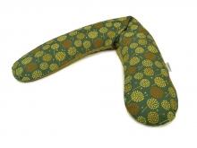Theraline Stillkissen Original Mikroperlenfüllung Design 164 Pusteblume dunkelgrün