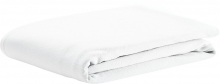 Odenwälder Fitted bed sheet jersey white 70x140