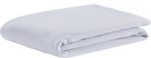 Odenwälder Fitted bed sheet jersey light silver 40x90cm