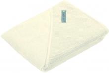 Odenwälder Hooded bath towel uni 100x100cm nature