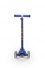 Micro maxi scooter MMD067 deluxe LED blue