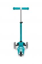 Micro mini scooter MMD076 deluxe LED aqua