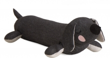 Roommate Lazy Puppy anthracite 55cm