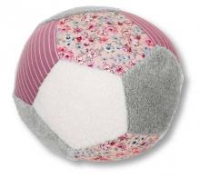 Sterntaler Ball light pink/grey