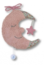 Sterntaler Musical toy Large Moon light pink