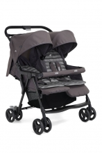 Joie Aire Twin™ double buggy dark pewter