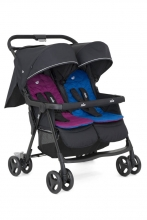 Joie Aire Twin™ double buggy rosy & sea