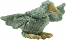 Senger Cuddly toy Goose small grey