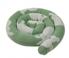 Sterntaler Knitted bed roll Kinni and Kalla green