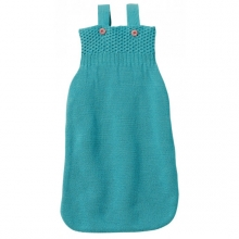 Disana Knitted Sleeping bag 65cm lagoon