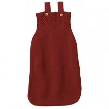 Disana Knitted Sleeping bag 65cm bordeaux