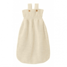Disana Knitted Sleeping bag 75cm natural