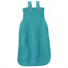 Disana Knitted Sleeping bag 75cm lagoon