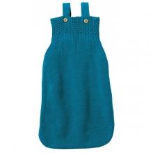 Disana Knitted Sleeping bag 75cm blue