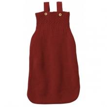 Disana Knitted Sleeping bag 75cm bordeaux