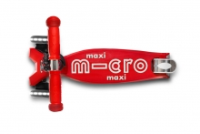 Micro maxi scooter MMD068 deluxe LED red