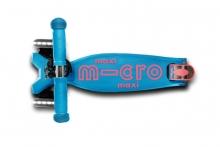 Micro maxi Scooter MMD078 deluxe LED aqua
