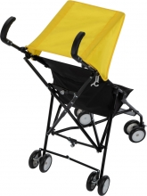 Safety First Buggy Peps & Canopy Yellow Triangle