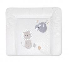 Zöllner Changing mat Softy uni lion and sloth 75x75 cm