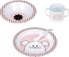 Lässig Dish set Little Chums Mouse