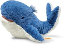 Steiff Blue Whale Tory 28cm blue