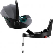 Britax Römer Baby Safe 3 i-Size inkl. Flex Base iSense BR Frost Grey