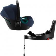 Britax Römer Baby Safe 3 i-Size inkl. Flex Base iSense BR Indigo Blue