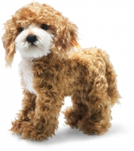 Steiff 031557 Ricky Cockapoo 27cm Mohair red brown - Collectors Item