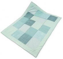 Liebes von Priebes Crawling blanket Ida birds/prisma mint